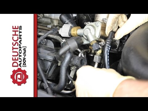 How to (DIY) Replace Vacuum Pipe to Vacuum Pump on Cyl Head for 2.0T FSI