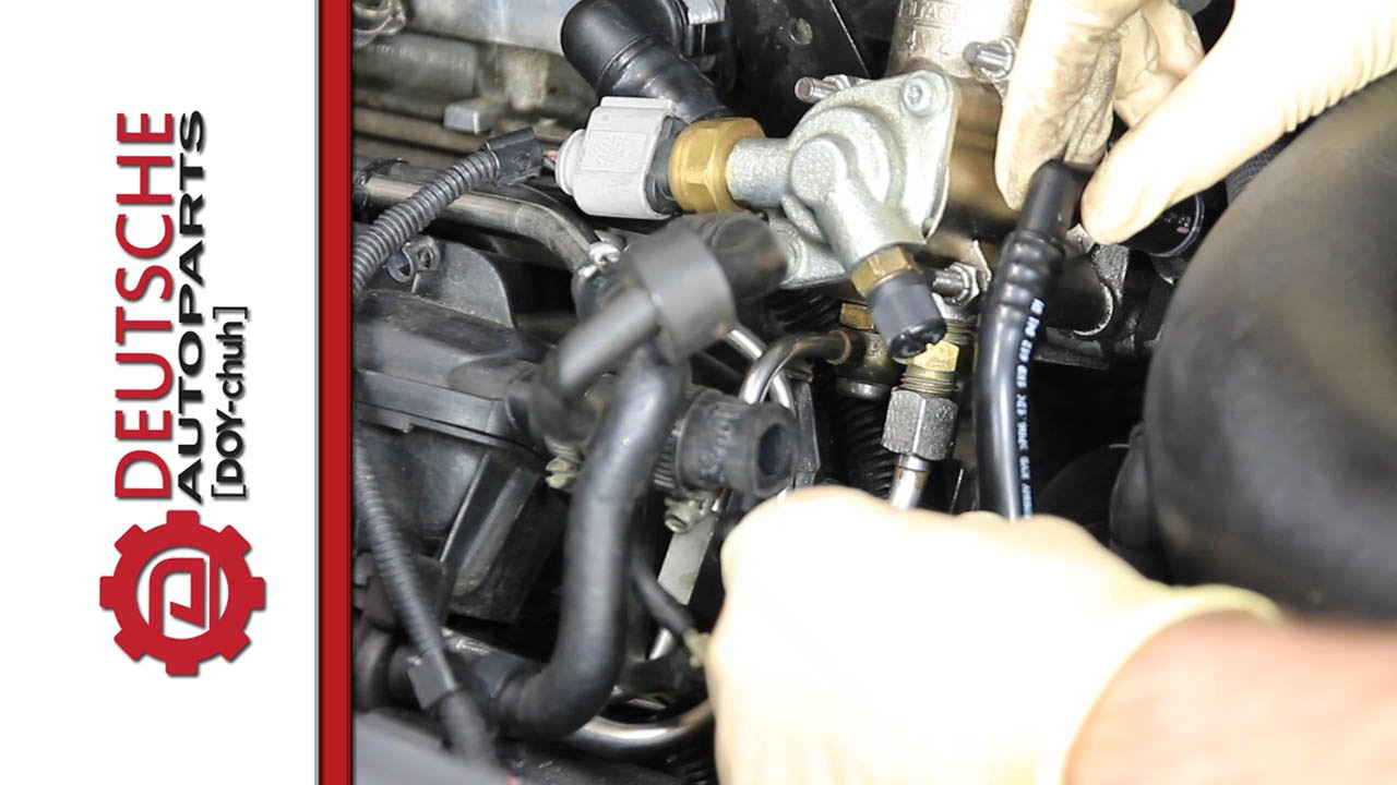 2000 vw passat vacuum hose diagram 1971 chevelle starter wiring how to diy replace pipe pump on cyl head for 2 0t fsi youtube