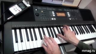 mmag.ru: Yamaha PSR E343 синтезатор с авто-аккомпанементом и обучением