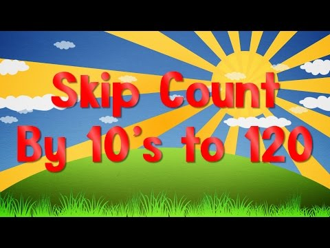 Count By 10's to 120   Learn To Count to 120   Jack Hartmann