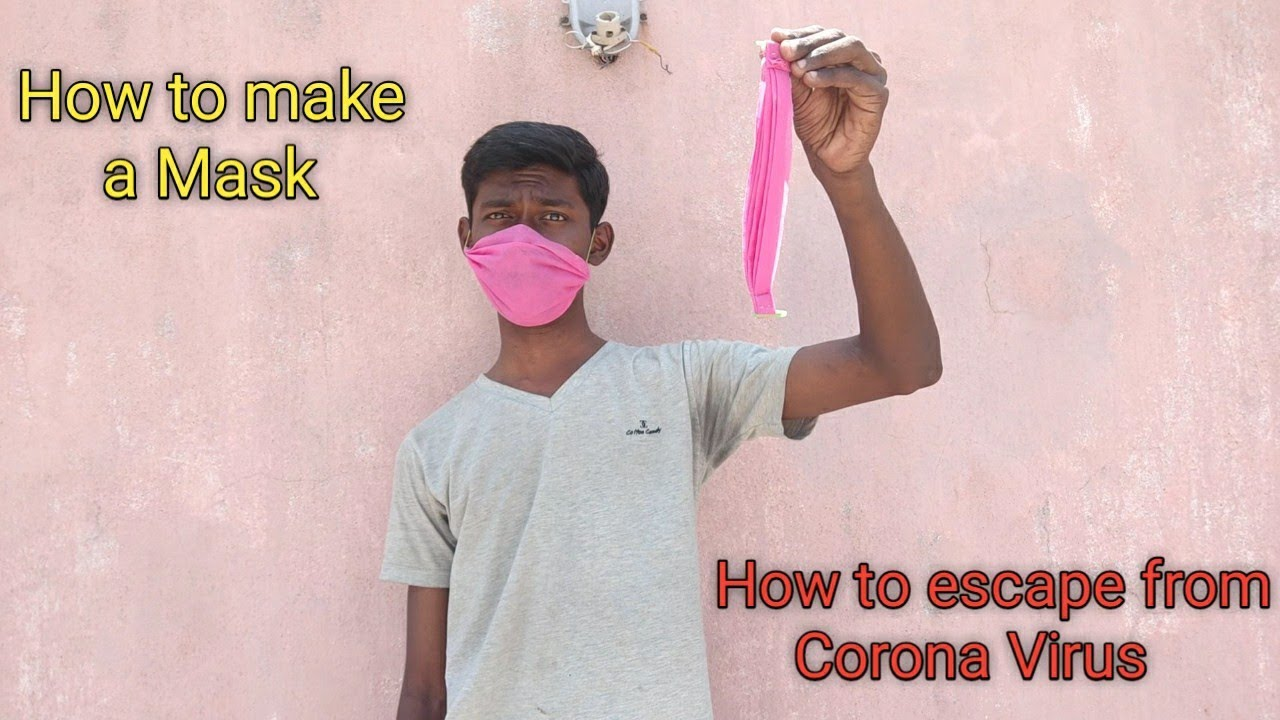 How to make a Mask | How to escape from Corona Virus | Agni Tamil