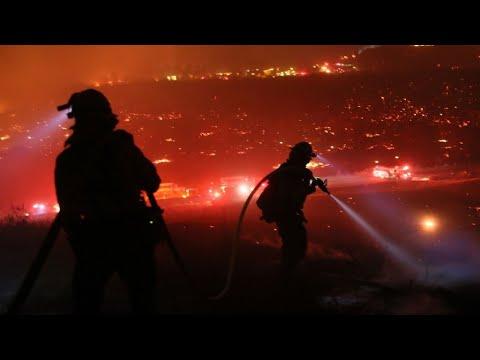 Californie : les incendies continuent leur progression, Santa Barbara menacée