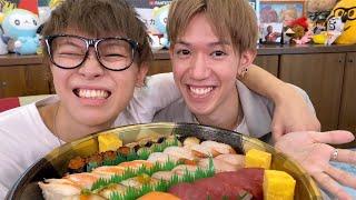 スカイピースの平和島:【大食い】寿司を食べながら結婚について真面目に語ります。