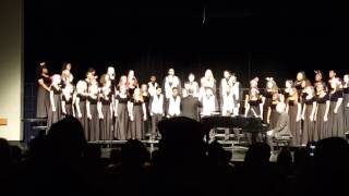 Sprayberry High School, A Holiday Concert, December 8, 2016, Combined Choirs, Carol of the Bells