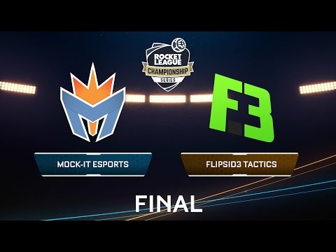 MOCK IT ESPORTS VS FLIPSID3 TACTICS - Rocket League Championship Series - FINAL EUROPA