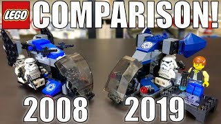 LEGO Star Wars Imperial Dropship Comparison! (7667 & 75262 | 2008 & 2019)