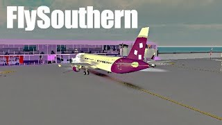 ROBLOX | FlySouthern A321-200 Flight | Happy Easter!