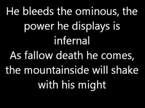 Unleash the Archers General of the Dark Army Lyric Video