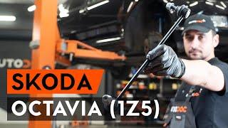 Hvordan man ændrer Stabilisatorbolt bag og foran SKODA OCTAVIA: videovejledning