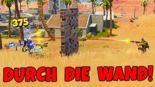 SHOOT THROUGH THE WALL! - Fortnite BUG!