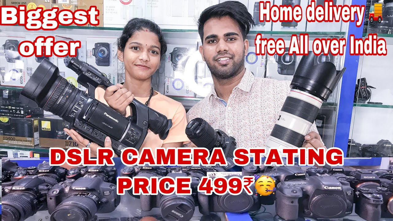 Download Professional Second hand Dslr camera in cheap price || Lockdown Special || Cheeku vlogs