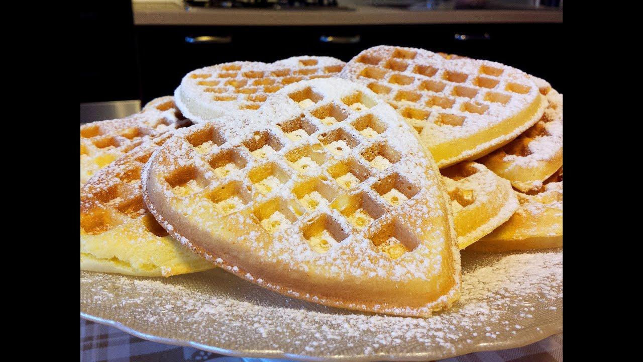 Ricetta Waffle Di Benedetta.Waffel Le Video Ricette Di Lara Youtube