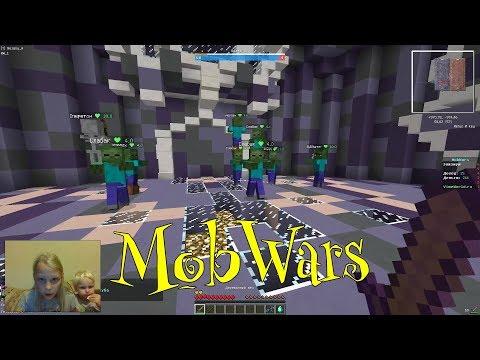 Играем в Minecraft | VimeWorld | MobWars | Melany Plays TV