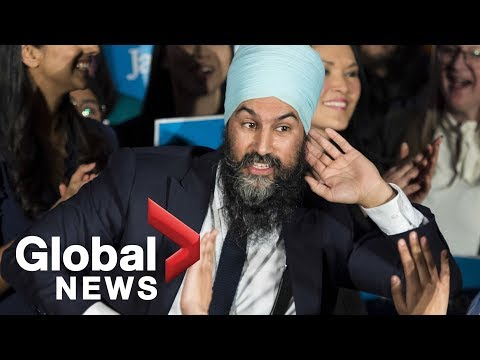 NDP leader Jagmeet Singh wins federal byelection in Burnaby South