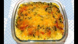 Нежная #ЗАПЕКАНКА из КАБАЧКОВ с Сыром Просто и Вкусно Запеченные КАБАЧКИ #Рецепт
