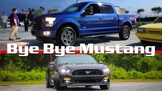 he traded the mustang 5 0 for an ecoboost f150