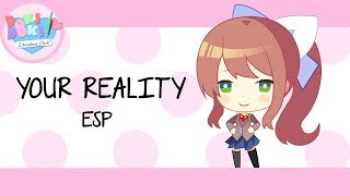 Your Reality 『Doki Doki Literature Club Credits OST』 [Ver. Español] 【GeeGeeVocals】( Parche latino )