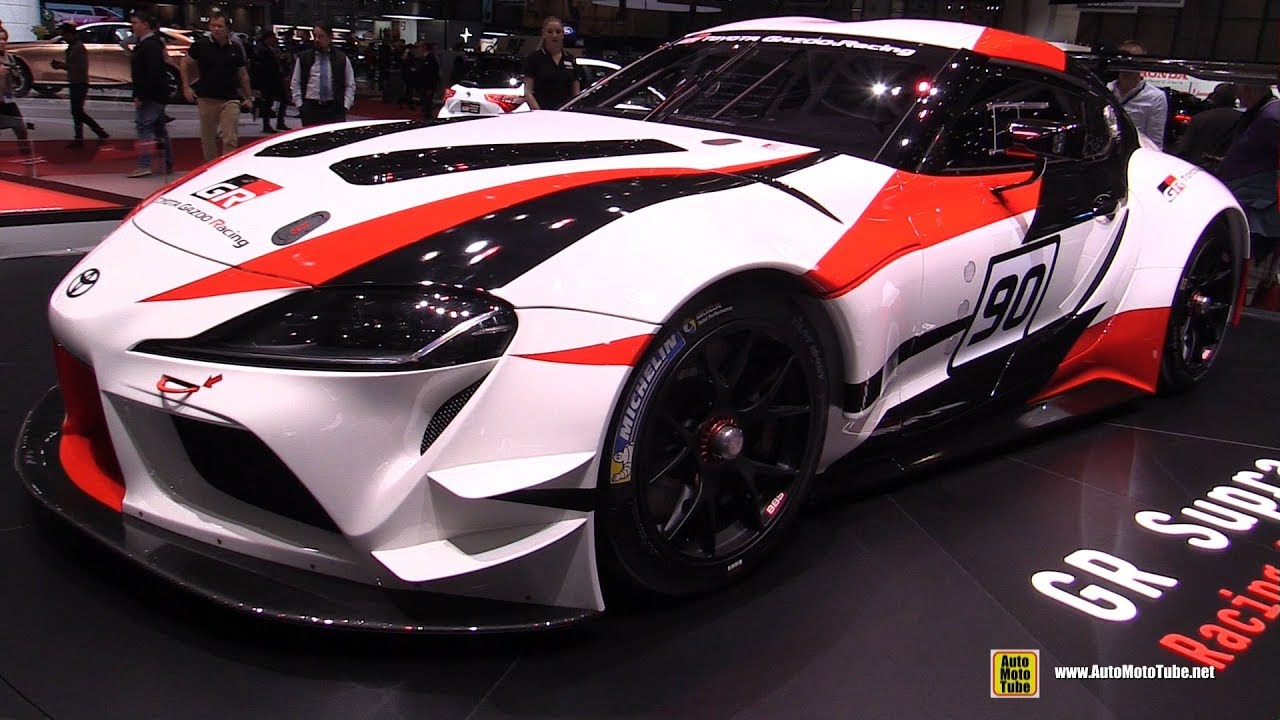 2019 Toyota Supra Racing Concept Walkaround 2018 Geneva Motor