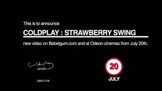 Coldplay - Strawberry Swing (Trailer)
