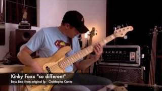 Kinky Foxx - So Different - Bass Line