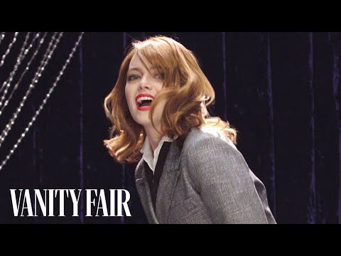 Emma Stone Teaches You How to Pogo Stick | Secret Talent Theatre | Vanity Fair