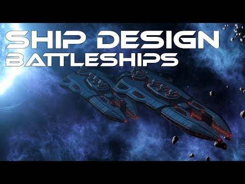 Stellaris 2.0.2 - Ship Design - Battleships