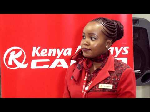 Kenya Airways delivers to ICT Authority first batch of Digital Literacy Programme (DLP) devices.