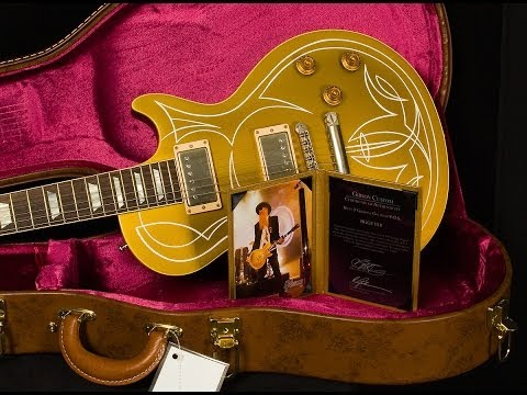 Gibson Custom Shop Billy Gibbons 1957 Pinstripe Les Paul Goldtop VOS  •  SN: BGGT018