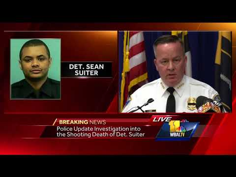 video: Police press conference on Det. Suiter homicide