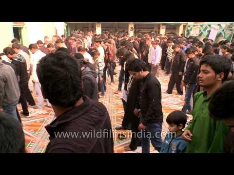 Muharram ritual in Mosque