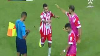 اهداف مباراة ( حسنية أكادير 1-1 الجيش الملكي ) البطولة الإحترافية إتصالات المغرب