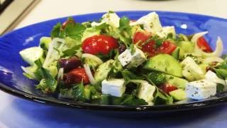 Choriatiki Greek Salad recipe, a Tasty & healthy Food for summer | Dodoni the authentic Greek Fe