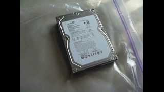 Experiment: Freezing My Broken Seagate st3500320as 500gb Hard Drive.  Result: Still Broken