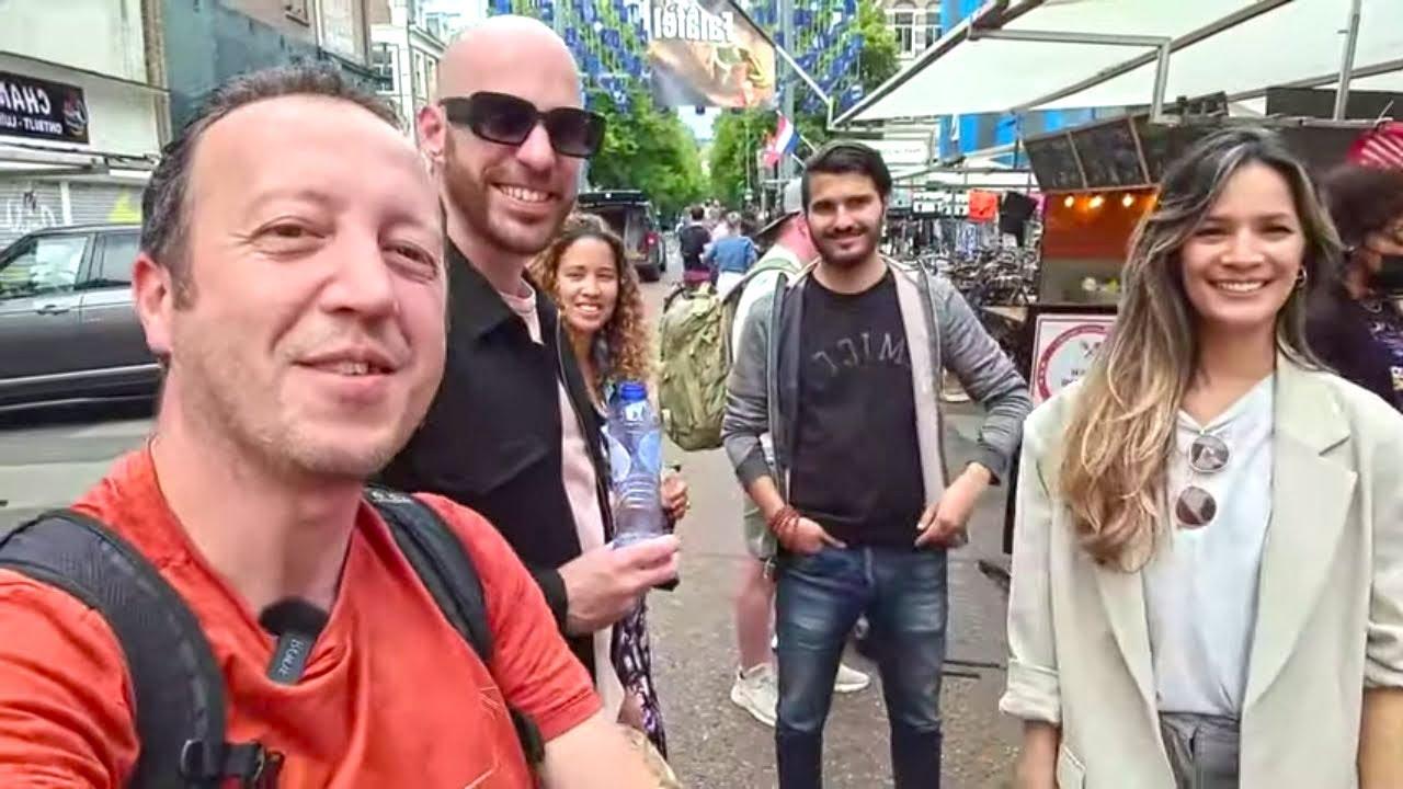 AMSTERDAM ALBERT CUYPMARKT SHOPPING TOUR (Long Story Short)