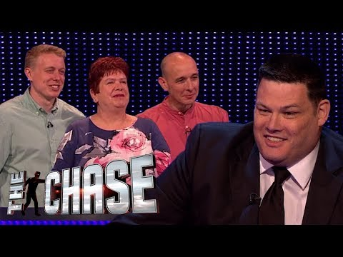 The Chase | Sean, Gill and Ant's Incredibly Close £20,000 Final Chase With The Beast