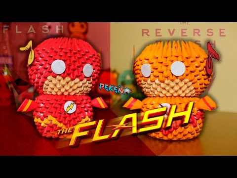 Flash 3D Origami | Pekeño ♥