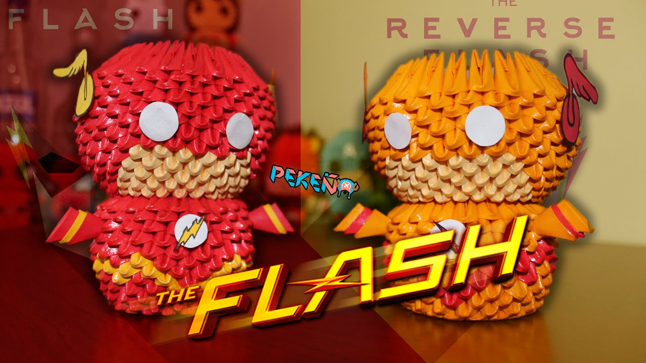 Flash 3D Origami | Pekeño ♥ - YouTube