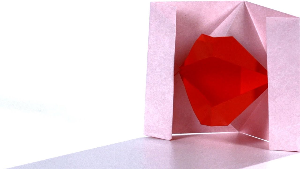 How To Make Lips Origami Youtube 3d Swan Diagram Http Howtoorigamicom Origamiswanhtml