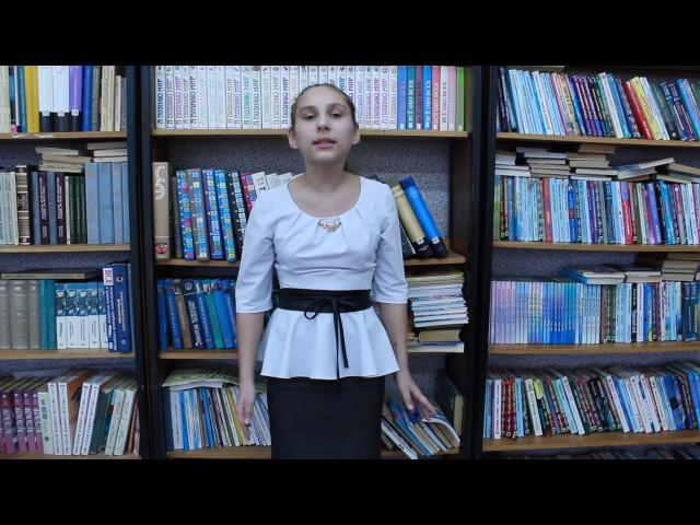 Изображение предпросмотра прочтения – ЛожкинаМария читает произведение «Чулочки» М.М.Залилова (Джалилова)