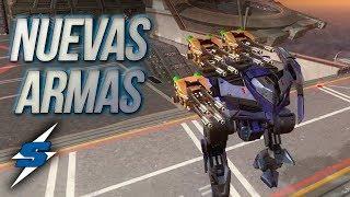 PULSAR Y SHREDDER *ARMAS PARALIZADORAS* SORILOKO War Robots