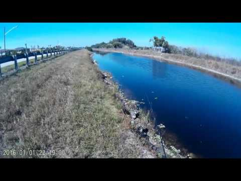 Fishing canal in Florida