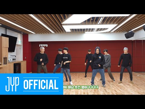 """GOT7 """"NOT BY THE MOON"""" Dance Practice (Part Switch Ver.)"""