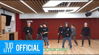 "GOT7 ""NOT BY THE MOON"" Dance Practice (Part Switch Ver.)"