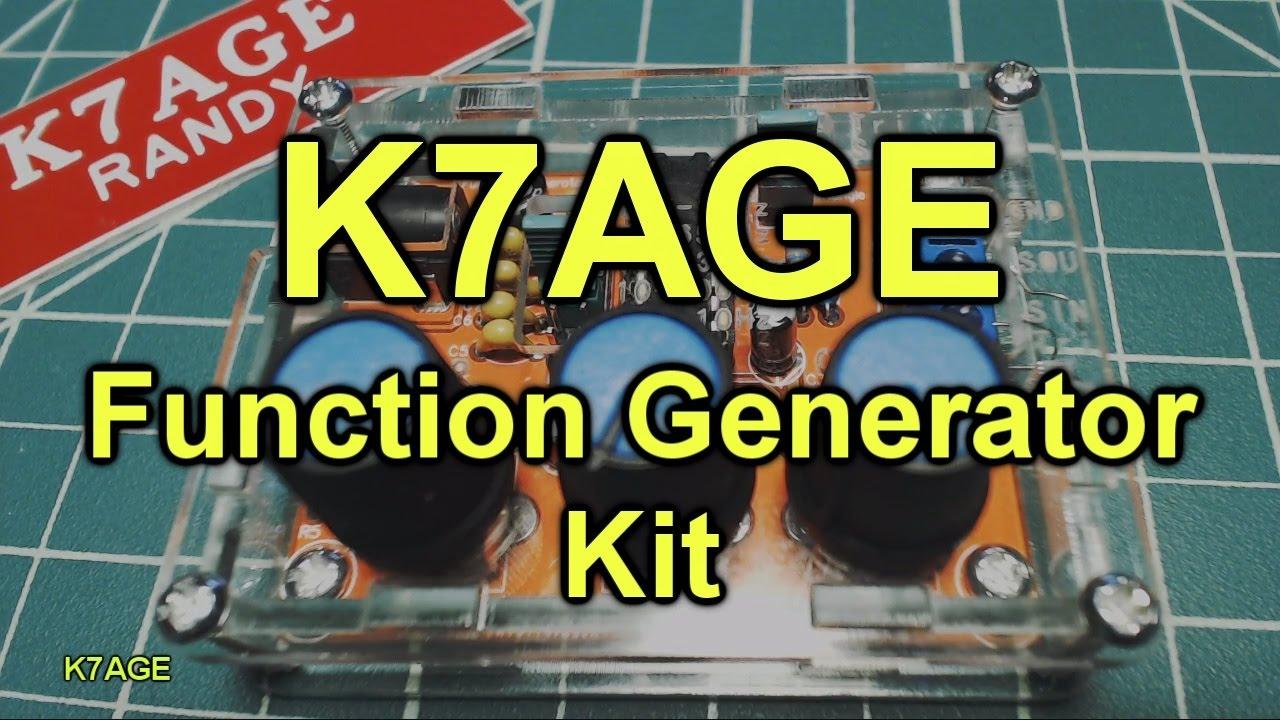 Build An Analog Function Generator Youtube Circuit Using Icl8038 Gadgetronicx