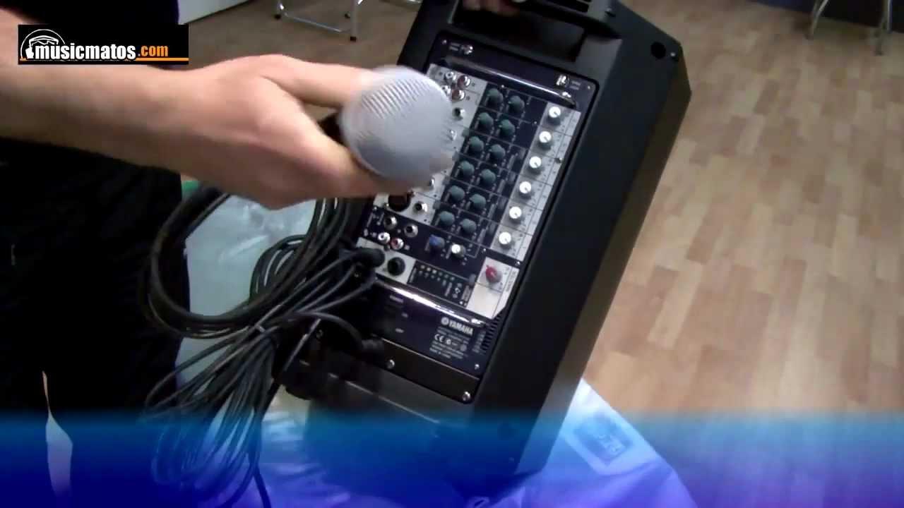 Stagepas300 Yamaha Sonorisation Portable 2x150w Amplifiee