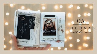 Journal With Me #05   Passport Traveler's Notebook