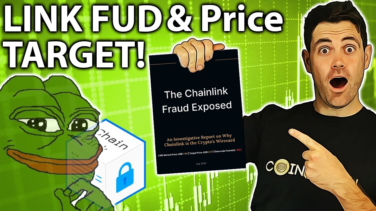 Chainlink FUD & LINK Price Prediction!! 😱📈