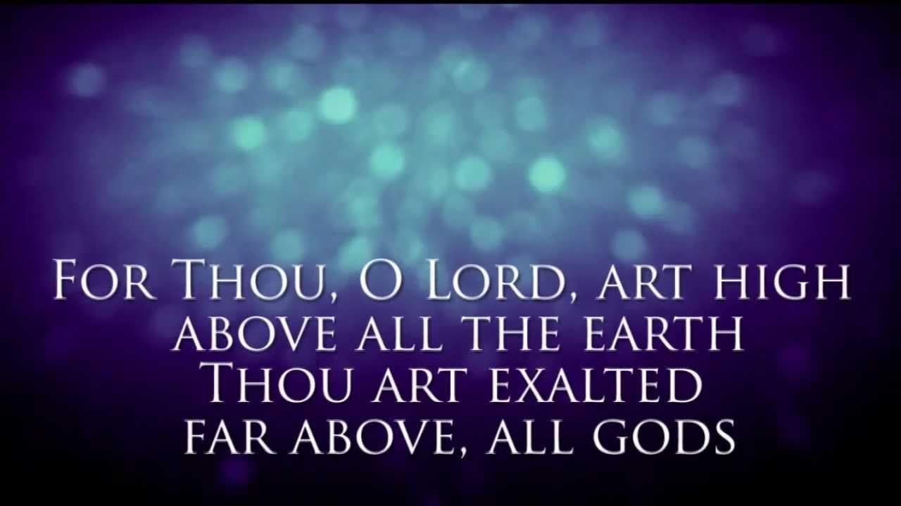 I Exalt Thee - Jesus Culture - YouTube