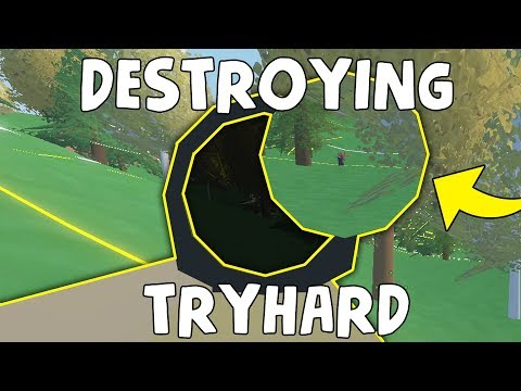 MOST IRONIC TRYHARD I HAVE SEEN | Unturned