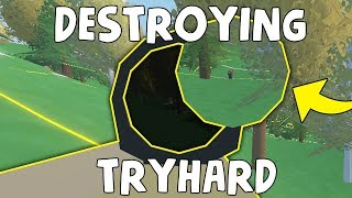 MOST HYPOCRITE TRYHARD I HAVE EVER SEEN in Unturned